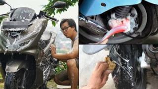 a 9 - Cara Benar Cuci Motor Sendiri